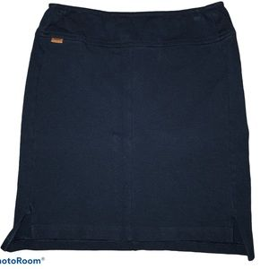 Lacoste fitted navy blue pencil skirt Size 34